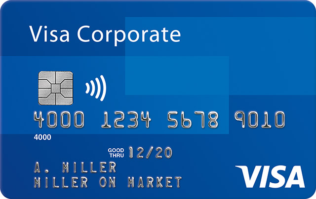 Visa Corporate Plus Card